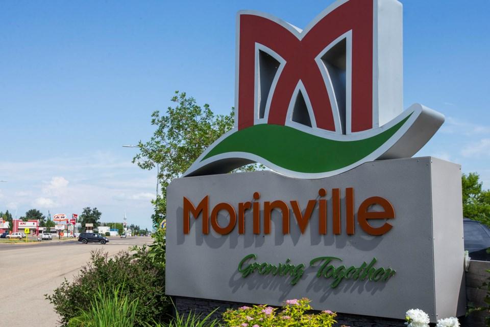 morinville sign CC 5294