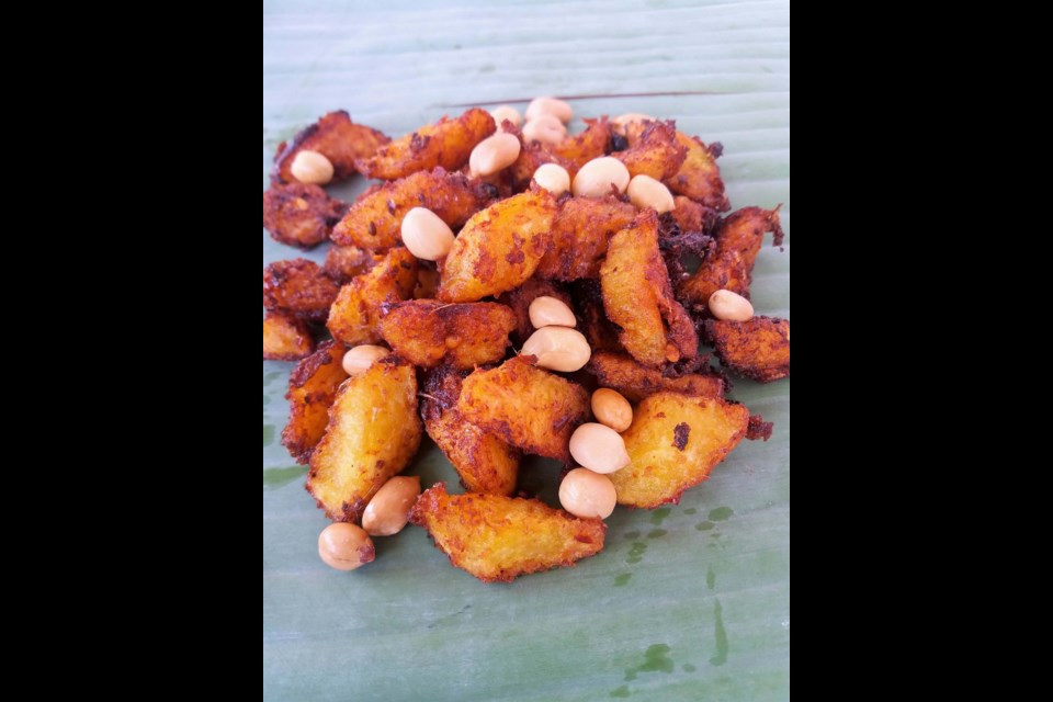 An online demonstration of Kelewele, a Ghanain dish made from fried plantains and spices, takes place Saturday, Sept. 18 from 2 p.m. to 3 p.m.