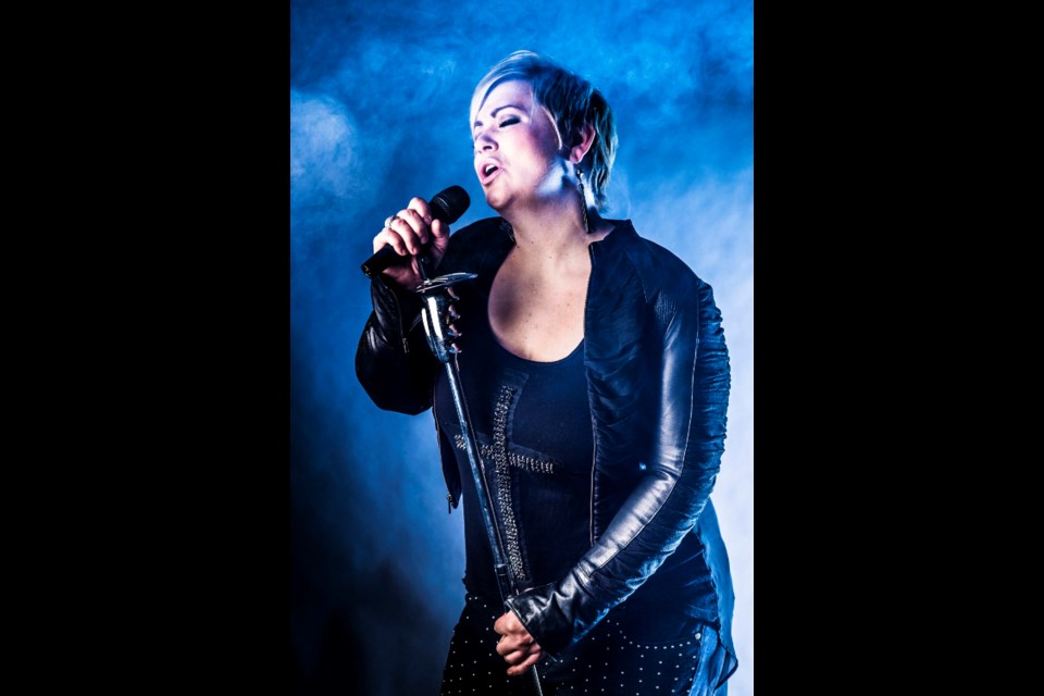 Blues vocalist Samantha King performs with guitarist Jimmy Guiboche as part of the Arden Theatre's Plaza Series on Thursday, Sept. 2.