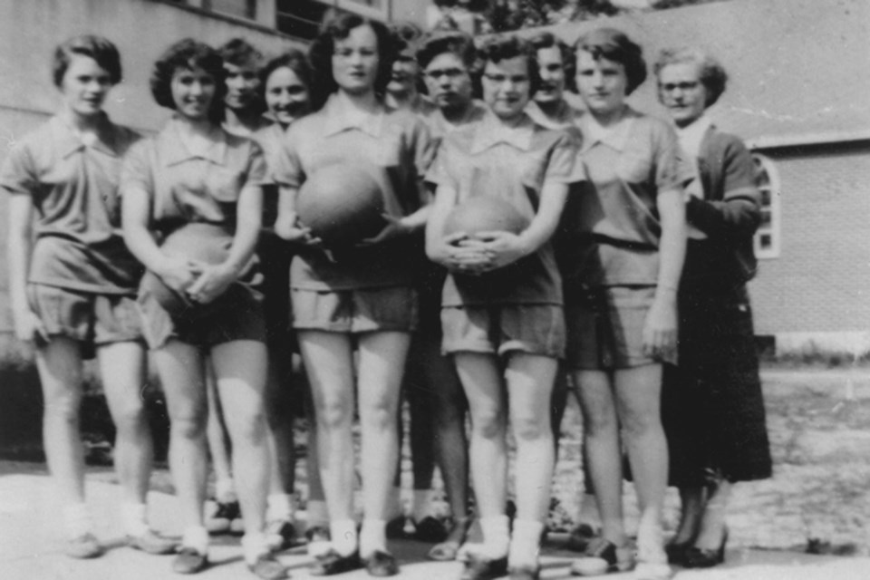 You think the Raptors are fab? This was St. Albert's high school female basketball team for 1954/55. Check out this image and many others as part of the Musée Héritage Museum's exhibit Looking Back: Fabulous Photos from St. Albert's Past, on display until September 8.