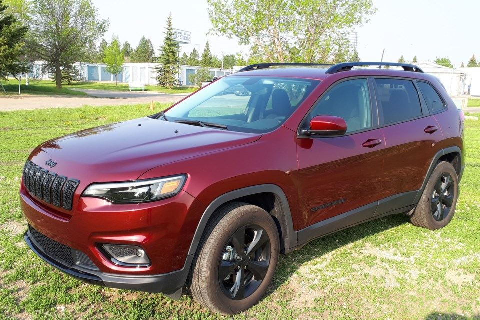 The new 2019 Jeep Cherokee