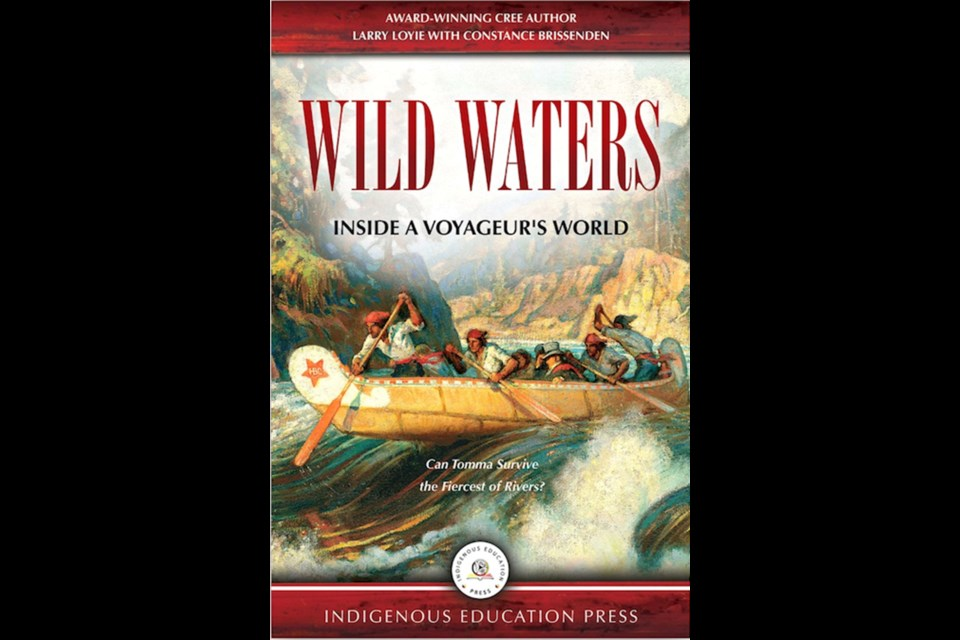 Wild Waters is based on the true history of Larry Loyie's great-grandfather. INDIGENOUS EDUCATION PRESS/PHOTO