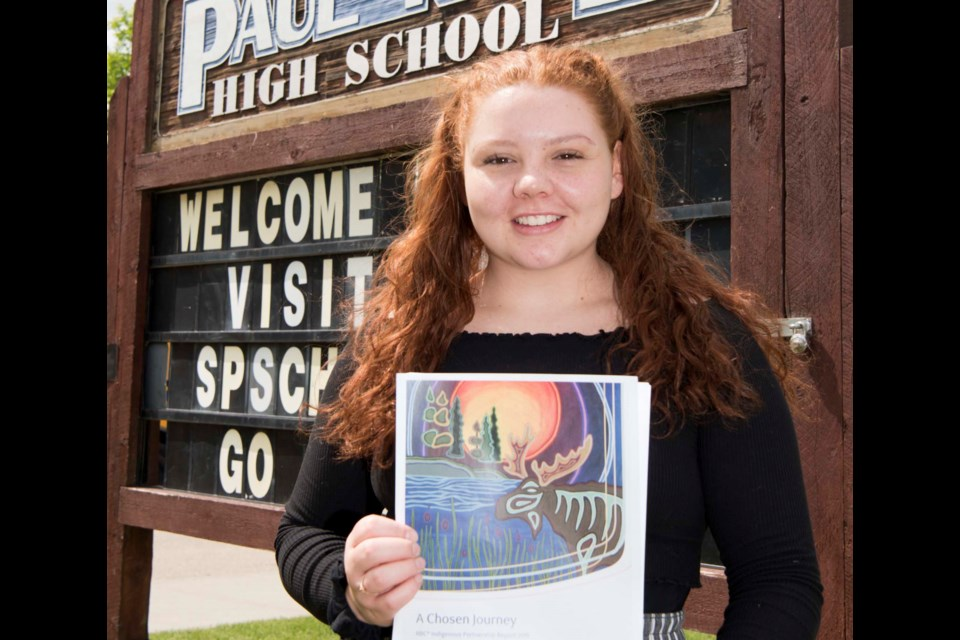 NATIONAL FAME – Paul Kane student Hannah Nash got a shout-out in a national report by RBC this week for her efforts to promote Indigenous culture in St. Albert.  KEVIN MA/St. Albert Gazette
