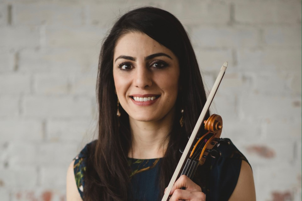 Fans of St. Albert violinist Neda Yamach can expect a masterly classical performance in her next appearance at St. Albert Chamber Music Society's Take 10 Pop Up Concerts with a performance at Chapters book store on Sept. 10.