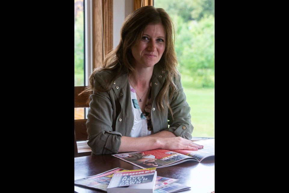 Sturgeon County author Jaclyn Dawn will have a new book in stores and online next week. CHRIS COLBOURNE/St. Albert Gazette