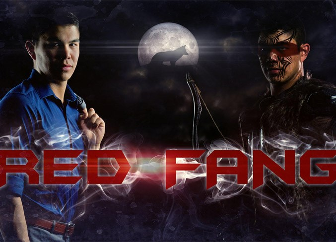 Rudy Janvier's winning project is called Red Fang, a web series about an Indigenous superhero.