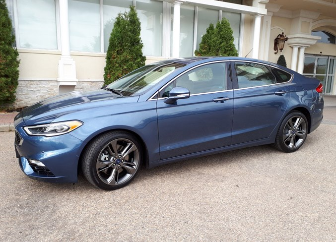 The popular Ford Fusion is one of the models the carmaker is doing away with.  GARRY MELNYK/Photo