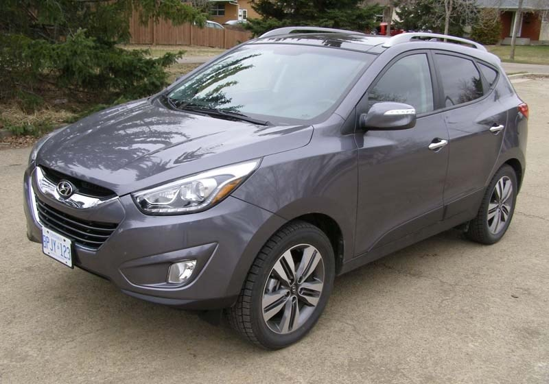 GOOD WHEELS – The Hyundai Tucson's styling may be a bit dated for some