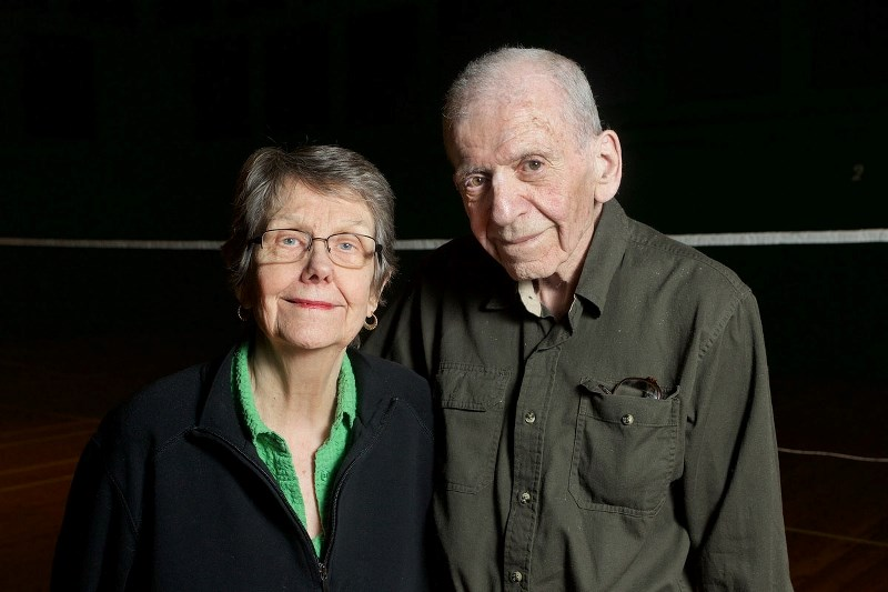 HALL OF FAME PIONEERS – Jean and David Folinsbee of St. Albert will enter the Alberta Sports Hall of Fame as winners of the Pioneer Award as builders and athletes in