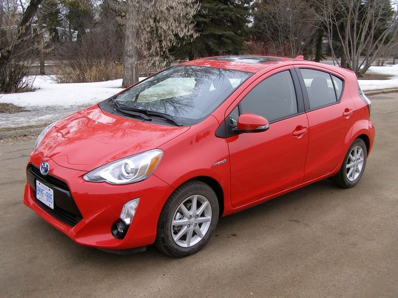 PRIUS C – This entry-level hybrid may be reliable and efficient