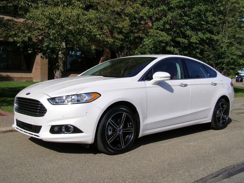 The Ford Fusion which to me is one of the best-looking family cars on the road. It is a big seller for Ford and topped the sales charts in July.