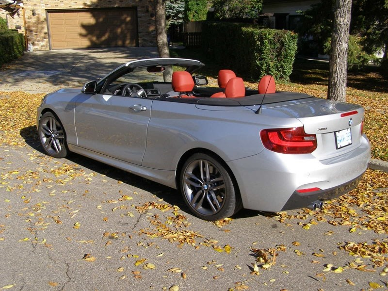 The BMW 228i XDrive is a nice package but doesn't excite me top up or down even with the expensive performance options on board. In many ways it drives and feels no