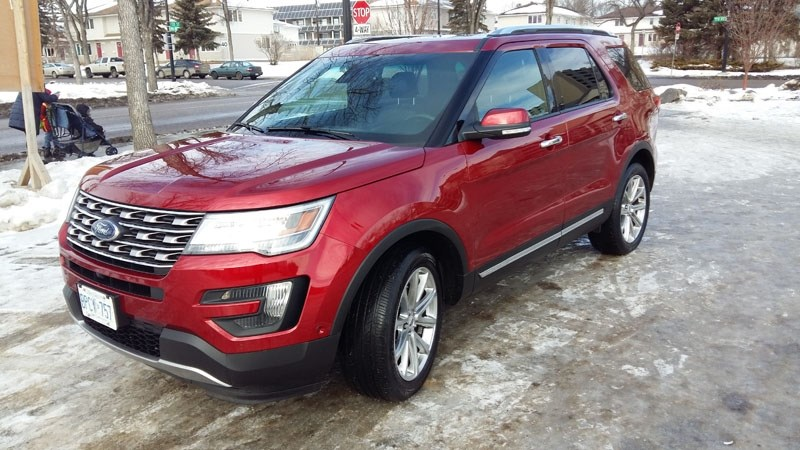 Ford has upscaled the 2016 Explorer adding a bit of bling and luxury.
