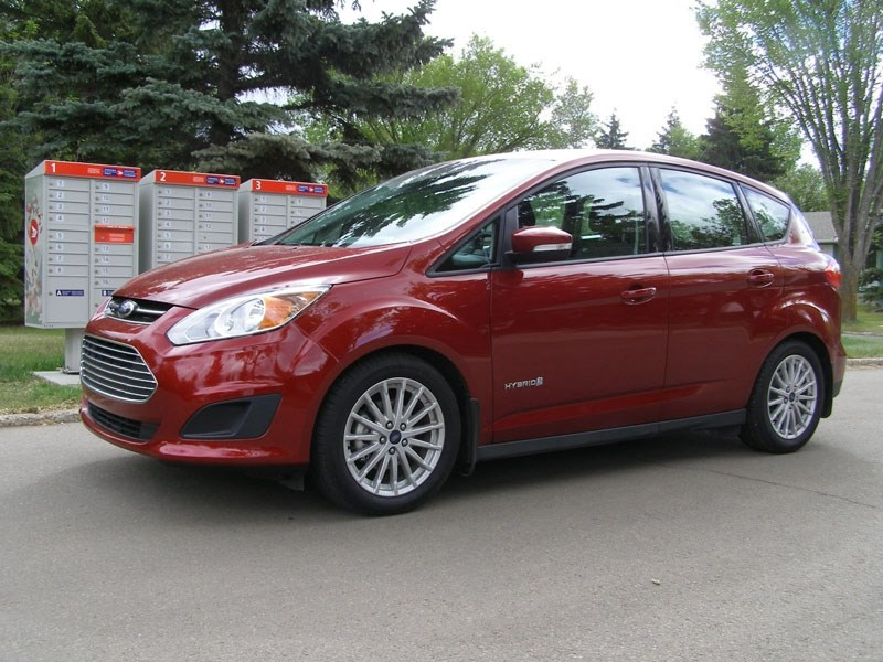 Exterior view of the Ford C-Max