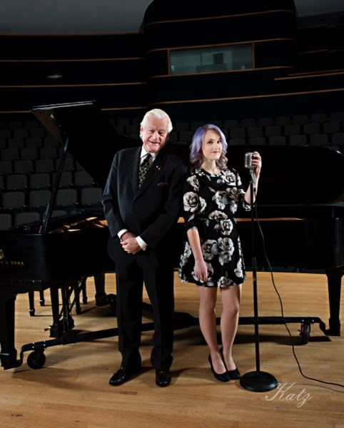 Pianist Tommy Banks and jazz vocalist Mallory Chipman join River City Big Band on Saturday