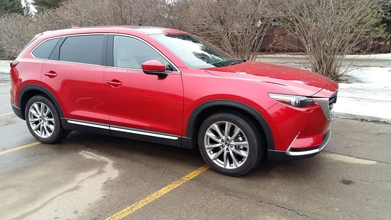 SPORTY SUV – The Mazda CX-9 SUV shines with the handling and attitude of a sports car while allowing the flexibility to transport a family and its cargo.