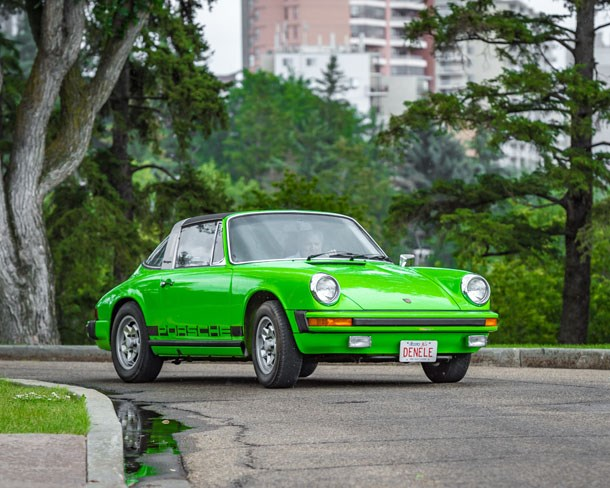 The 1974 Porsche has limited mileage, but every mile was driven with pleasure.