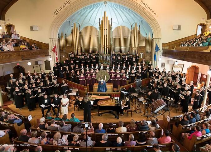 WEB 2010 Concert Edmonton Metropolitan Chorus