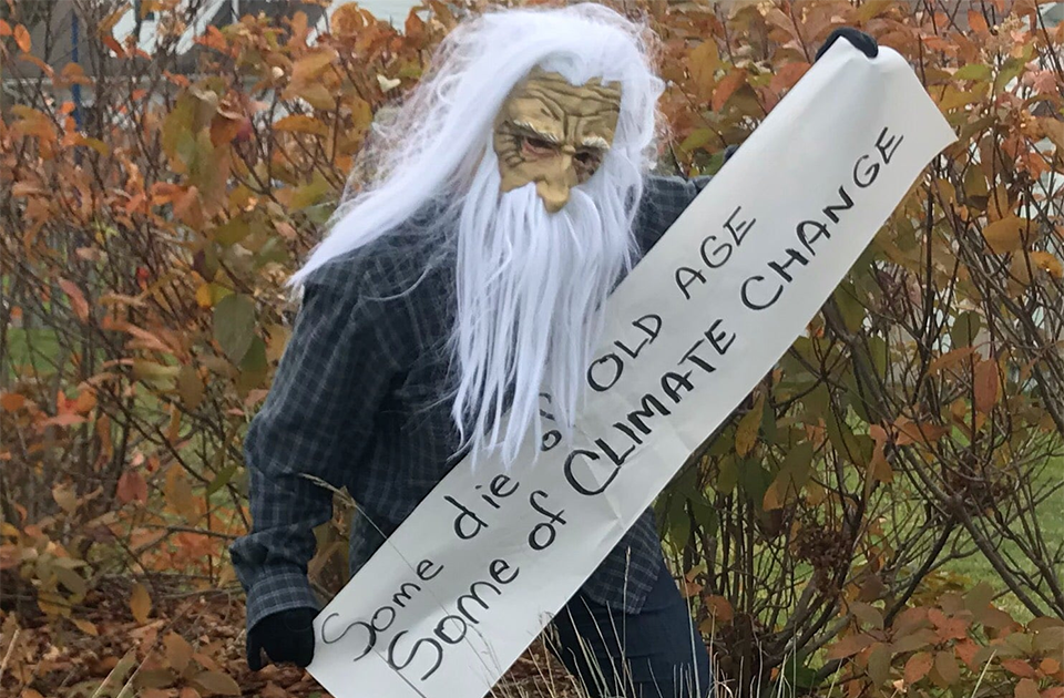 Fridays for Future holding Halloween-themed event for 2nd anniversary