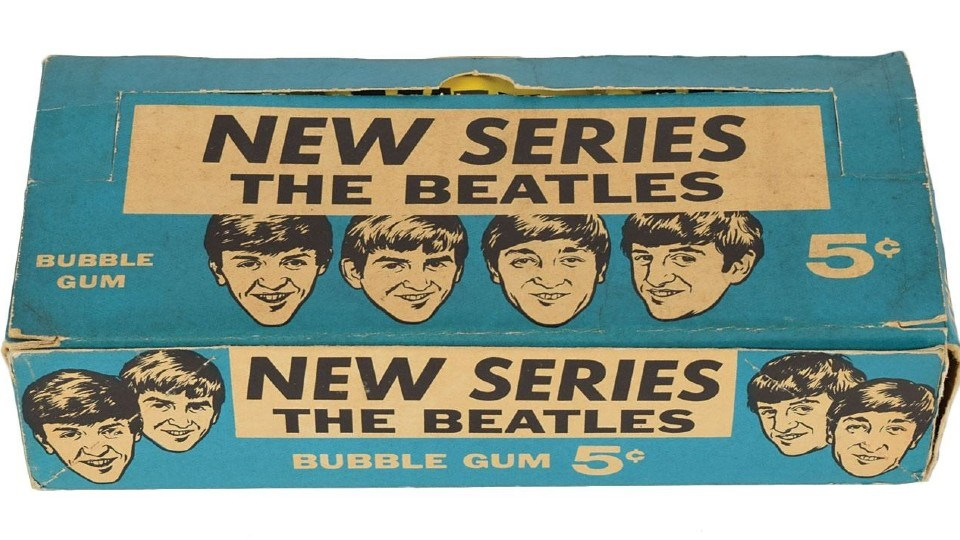 Some people liked the Beatles' music; others liked the collector cards bubble gum.
