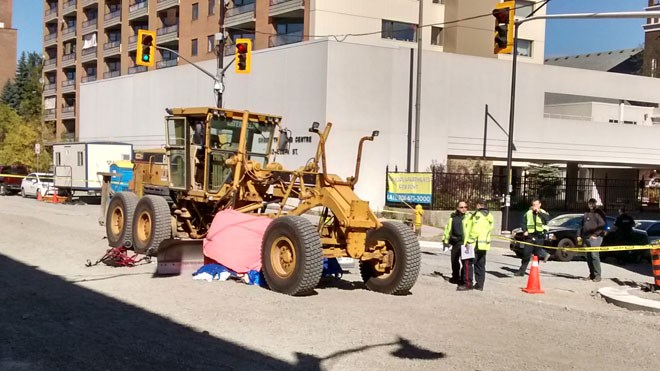 On Sept. 30, 2015, Sudbury woman Cecile Paquette died when she was run over by a grader operated by an employee of Interpaving Ltd. on an Elgin Street construction site. Interpaving pleaded guilty, while the City of Greater Sudbury was found not guilty. (File)