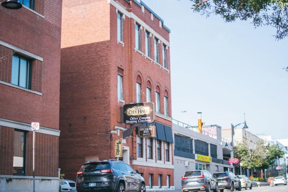 TRAV MSK will paint Old City Hall at 83 Cedar St. (Supplied)