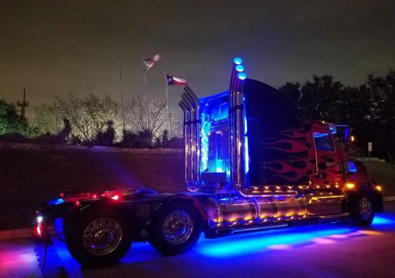 A fan-built Optimus Prime replica will be stopping in Capreol this weekend for the third annual Big Truck Meet Up on Saturday, May 18. (Supplied)