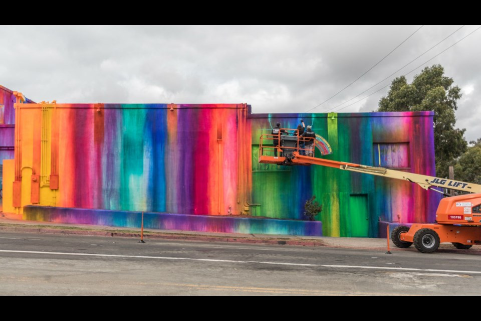 RISK is one of the muralists at the 2019 edition of Up Here. (Supplied)