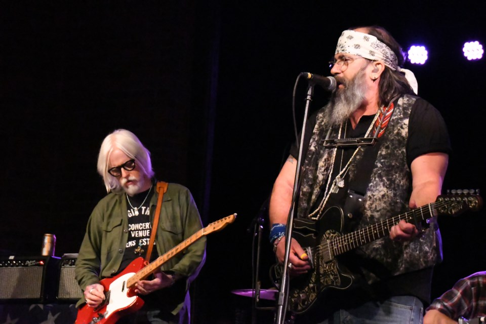 Steve Earle & The Dukes played the Fraser Auditorium in Sudbury July 17. (Marg Seregelyi)