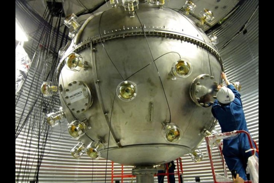 Sudbury's SNOLAB is an underground science laboratory specializing in neutrino and dark matter physics. Located 2 km below the surface in the Vale Creighton Mine. (Supplied)