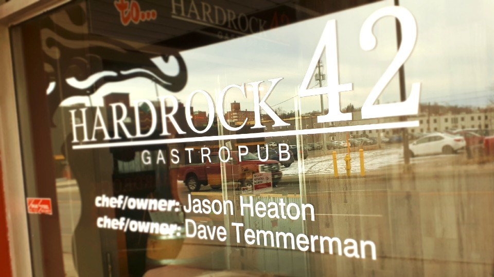 Hardrock 42 is located at 117 Elm St. in the downtown core of the city.