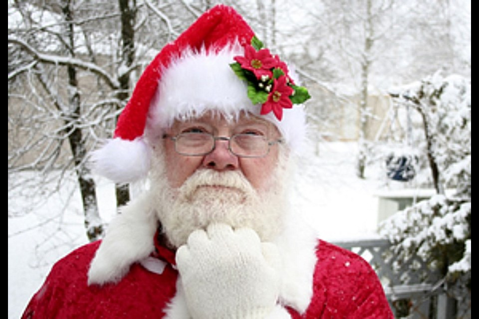 Rodney Campbell took over the reins (so to speak) of the Santa Claus Parade in the early 1990s, before retiring in the 2000s. (File)