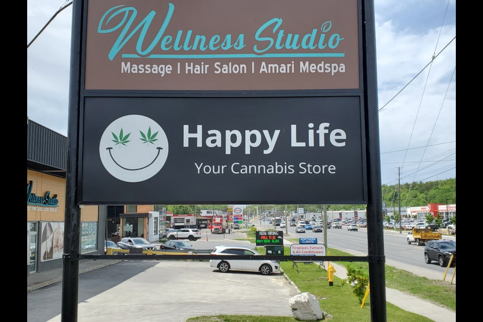 Happy Life, one of three new retail cannabis stores in the city, will open at 1021 The Kingsway. (Arron Pickard/Sudbury.com)
