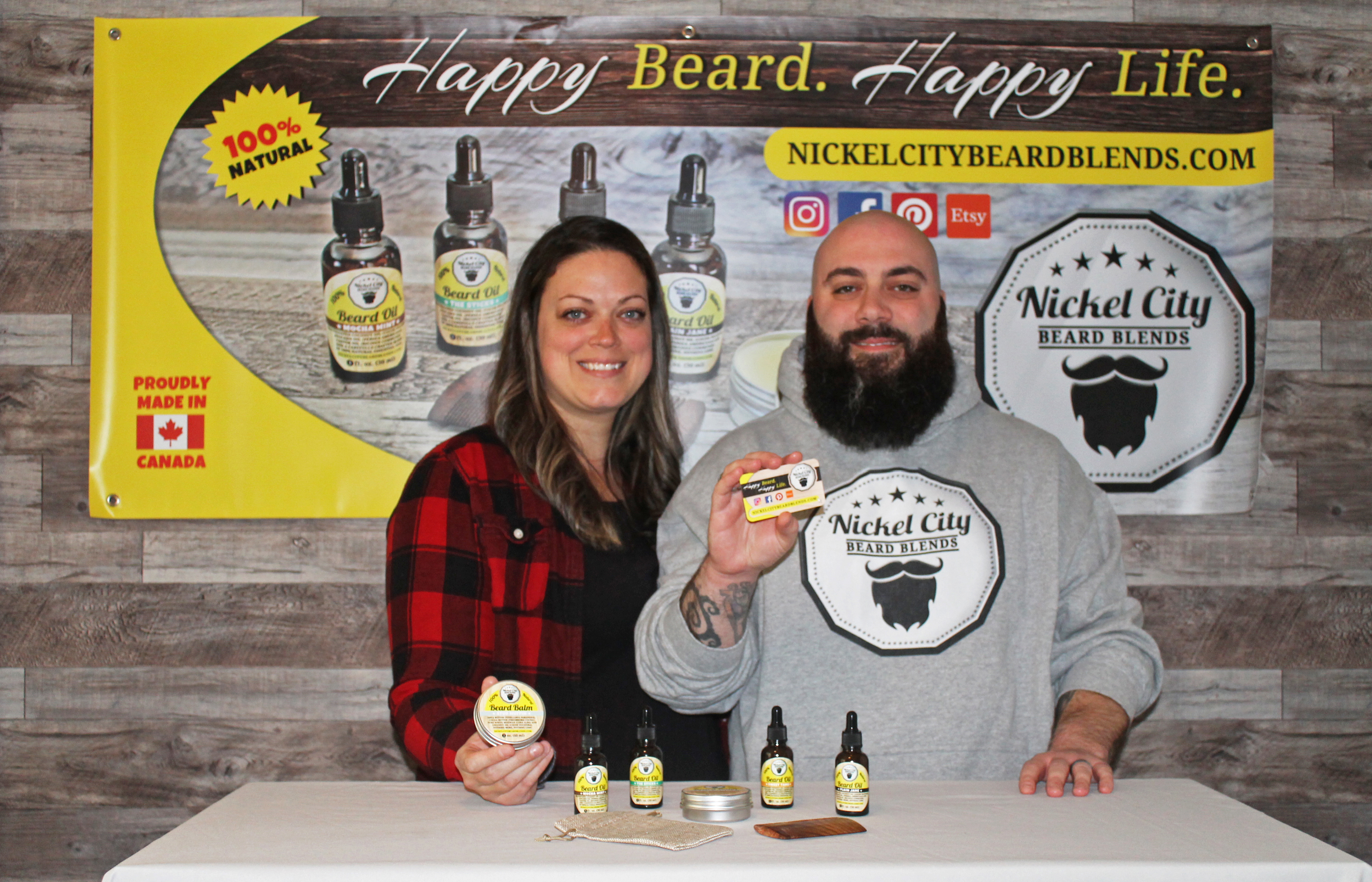Image result for nickel city beard blends