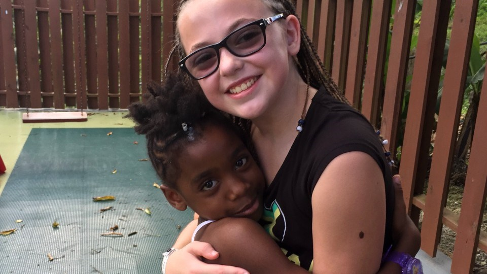 While on vacation in Jamaica in 2016, Darquise Frappier (age 11 at the time) was inspired to help underprivileged children in that island country, and her desire to help the less fortunate, both at home and abroad, is shared by her entire family.