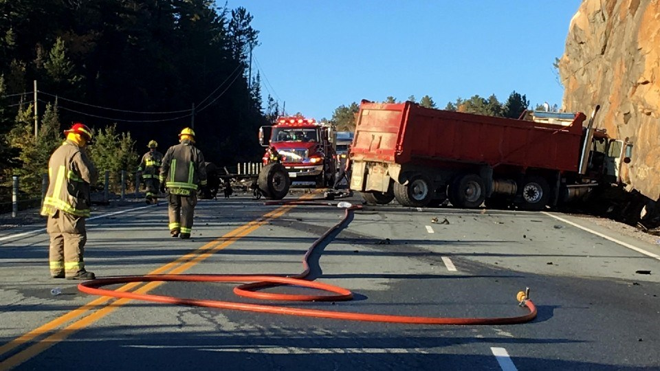 Sudbury.com reader and freelance photographer Ursula Hildebrandt captured these images of the Oct. 7 fatal crash on Highway 144 that claimed two lives.