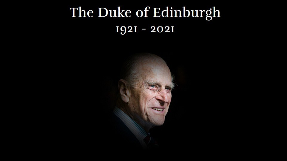 WORLD: Prince Philip has died at age 99, Buckingham Palace ...