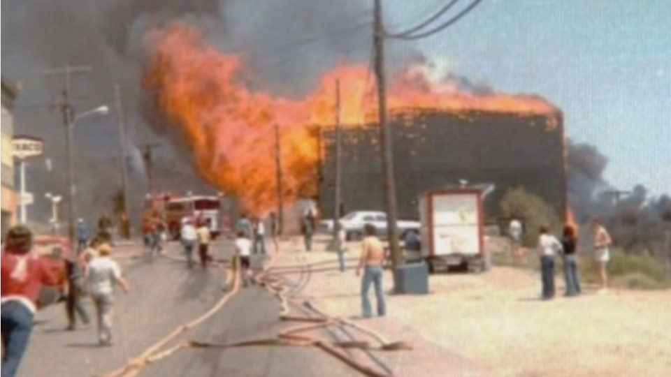 Images from the 1977 Cobalt fire are taken from a 2010 YouTube video by Shelley Adams and Lorraine McKnight.