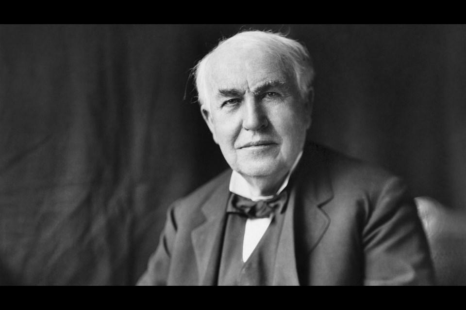 American inventor Thomas Alva Edison. (Public domain)