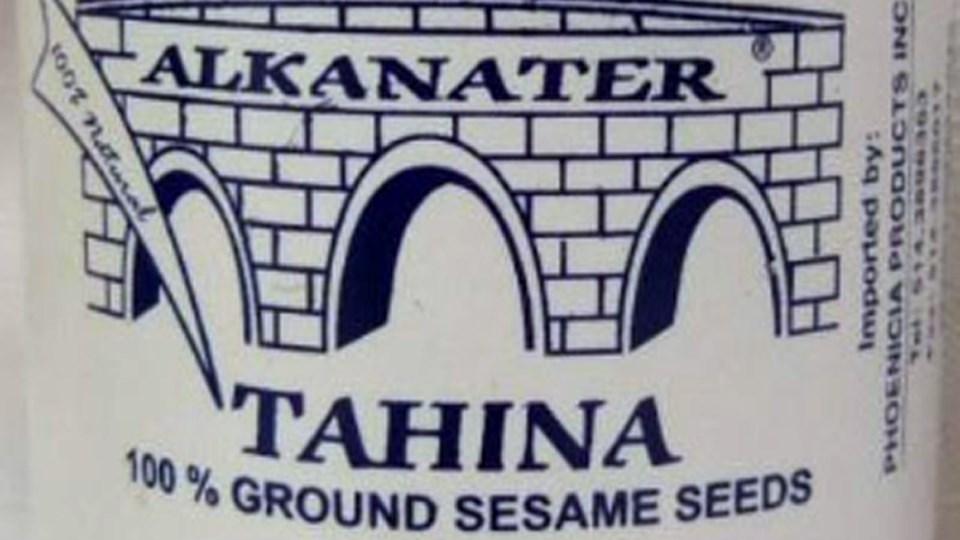 Alkanater brand tahina / Canadian Food Inspection Agency
