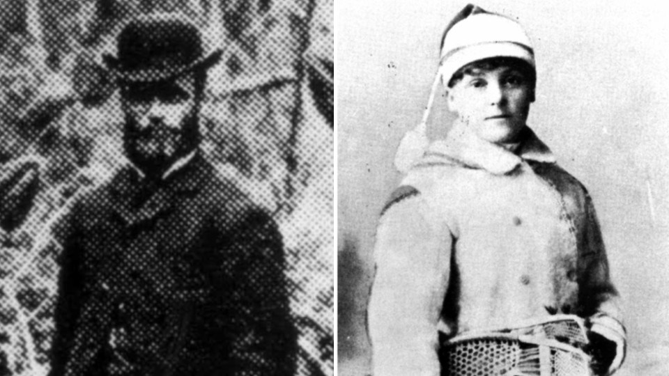 Dr. William Howey and Florence Howey  are considered the first pioneer settlers of Sudbury.