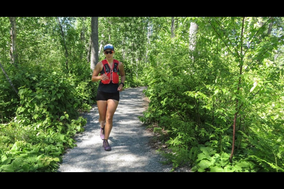 Going The Distance Cancer Foundation Staffer Runs 100 Miles At Kivi Park Raises 6k Sudbury Com