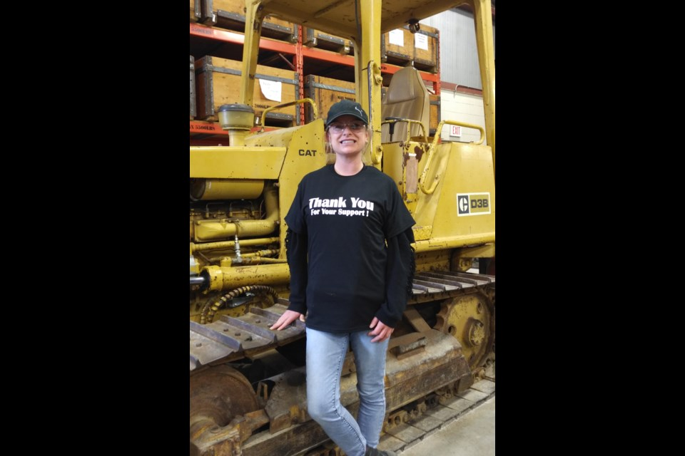 Stephanie Hogan is a graduate of Cambrian's Heavy Equipment Technician program, and now enrolled in the Motive Power Technician — Truck and Coach program. (Supplied)
