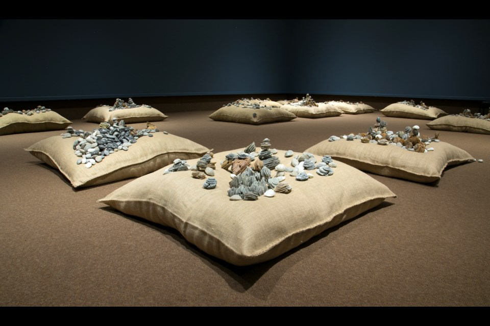 The 21 Pillows exhibit at the Art Gallery of Sudbury. (Supplied)