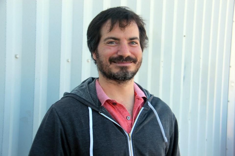 Sudbury native Rick Duthie has penned a play about Sudbury's mining labour history. (Heidi Ulrichsen/Sudbury.com)