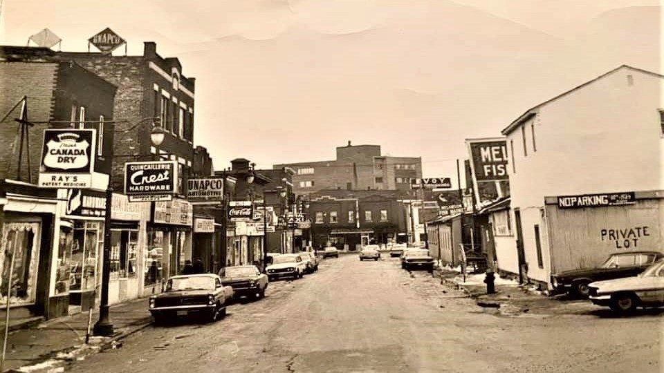 A view of Borgia Street in 1965.