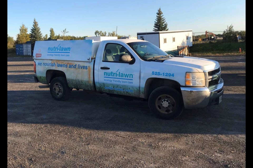 Be on the lookout for this truck stolen from a business on The Kingsway. (Supplied)