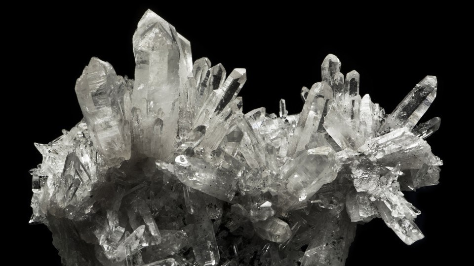 Quartz crystal. (Adobe Stock)