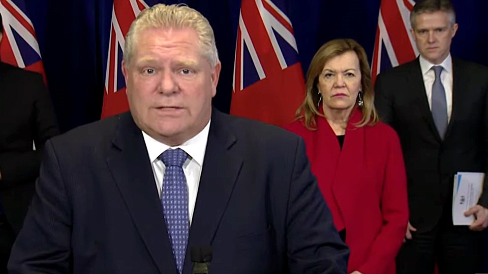 ONTARIO: Ford says decision on second stage of reopening could come within next week