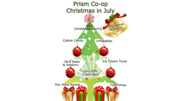 Christmas In July Clipart.Christmas In July This Weekend In Cambrian Heights Sudbury Com